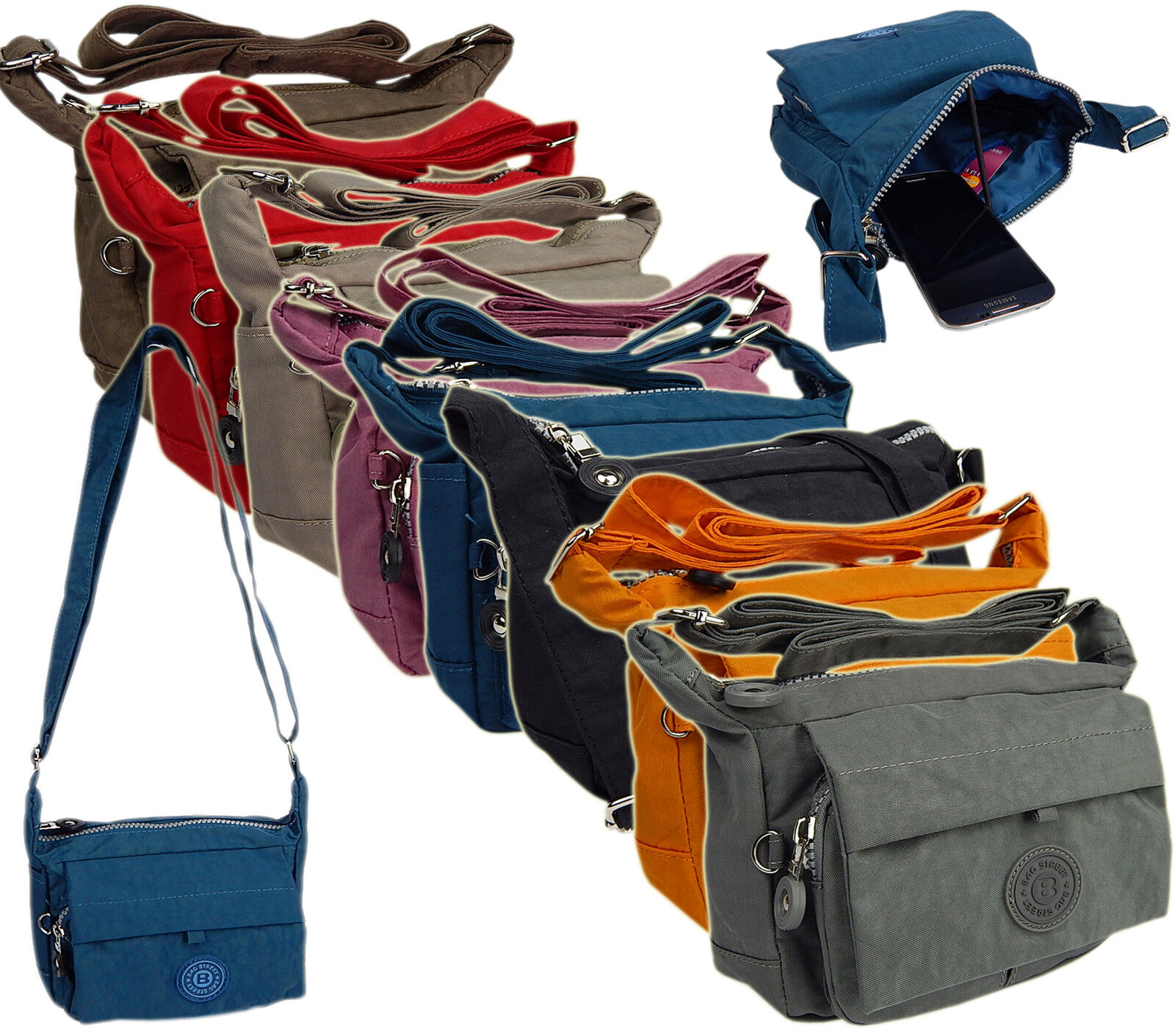 49a8673b1046b Damentasche Sportliche Handtasche UMHÄNGETASCHE Wasserabweisende Nylon  Tasche