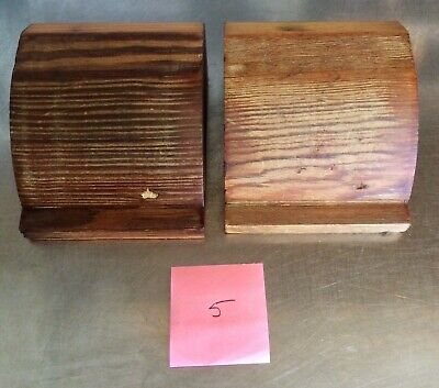 Vintage Reclaimed Pine Corbels / Brackets / Supports #5 (PAIR)