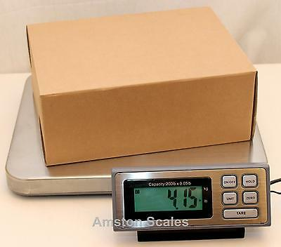 400 X 0.1 Lb Shipping Scale 14 X 16 Steel Tray Postal Postage Ups Fedex Usps Lss