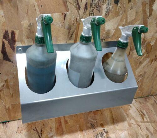 Spray Bottle Holder  3 hole