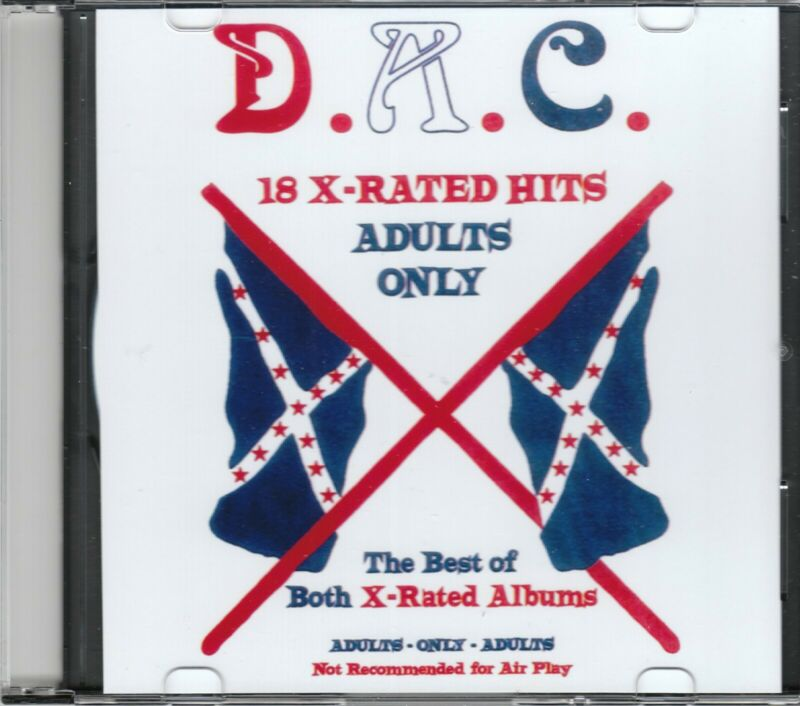DAVID ALLAN COE 18 X Rated Hits CD allen new