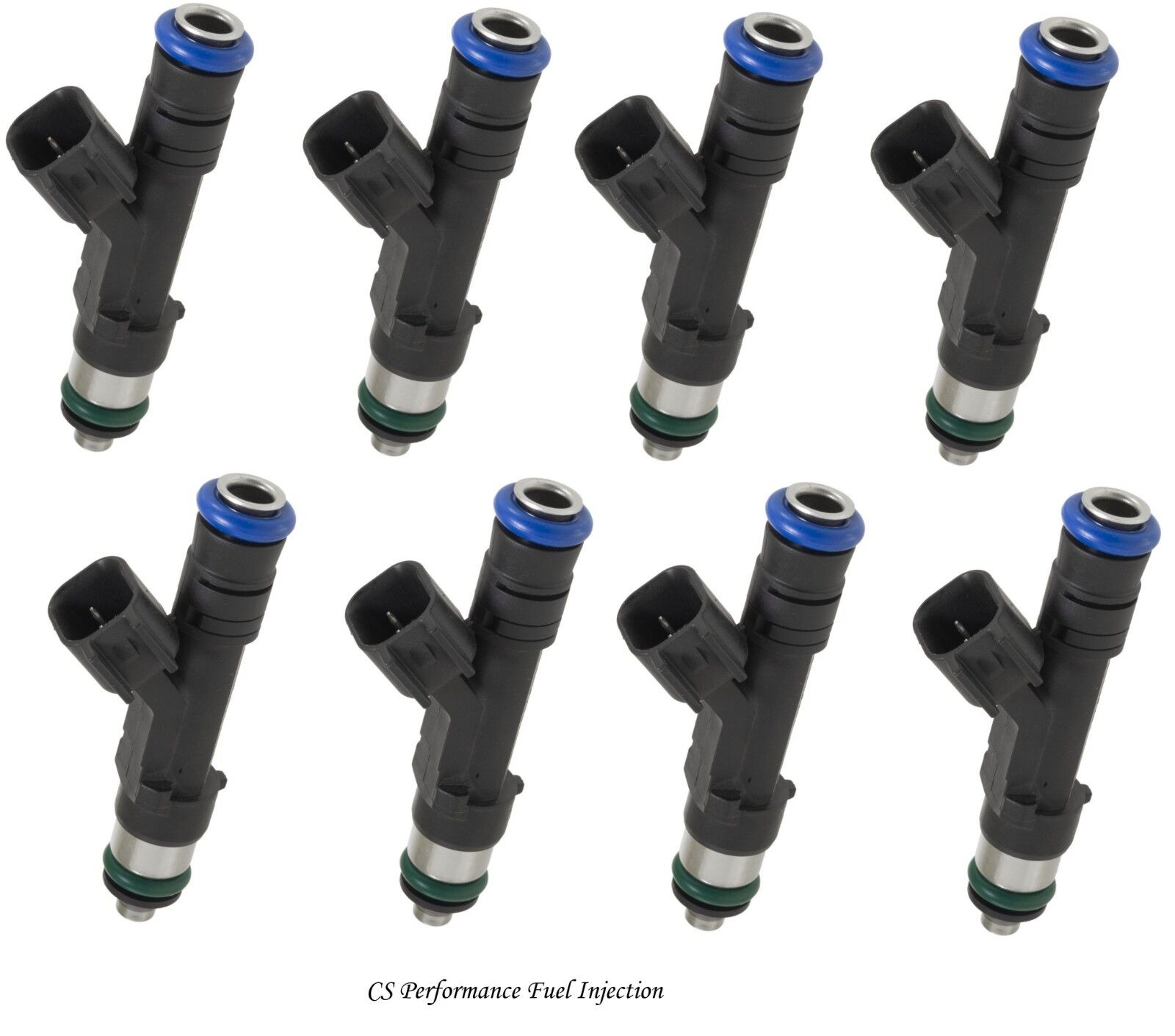 Series 5.4L 12 HOLE Upgrade 8pc OEM Bosch Fuel Injectors for 2003-2009 Ford E