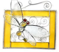 Stained Glass Class: Dragonfly Panel