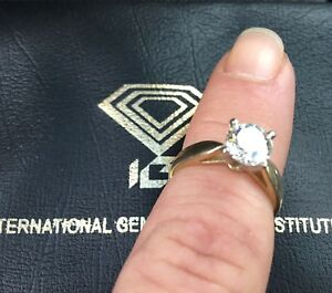 1 ct Solitaire Diamond Ring