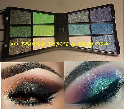 12 Color Eye Shadow Makeup Cosmetic Shimmer Matte Eyeshadow Palette +brush NEW