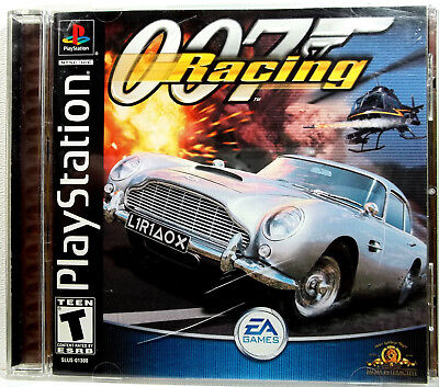 007 Racing (PS1) Complete - Clean,Tested & Fast Shipping