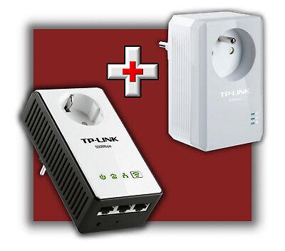 TP-LINK TL-WPA4230P KIT AV500 POWERLINE NETZWERKADAPTER REPEATER TL-WPA4226 KIT