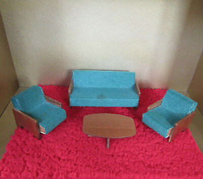 Used, Vtg 50s 60s Dollhouse CRAILSHEIMER? FURNITURE Mid Century Modern Miniature Chair for sale  San Francisco