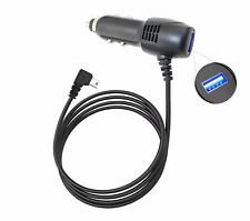 Long Cable CAR CHARGER POWER CORD FOR GARMIN NUVI 765LMT 1100 1350 30