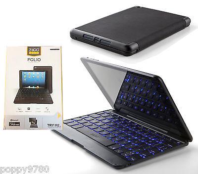 Zagg Keys Folio Case With Bluetooth Backlit Keyboard For ...