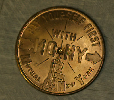 Mutual of New York Spinner Token Insured Income 1.25""