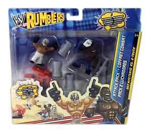 Wrestling WWE Rumblers Rey Mysterio vs R-Truth Attack Pack Action Mini Figures