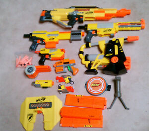 Lot Nerf Guns Mixed Stampede Recon Alpha Trooper Strike Switch Shot Amp Bullets Ebay