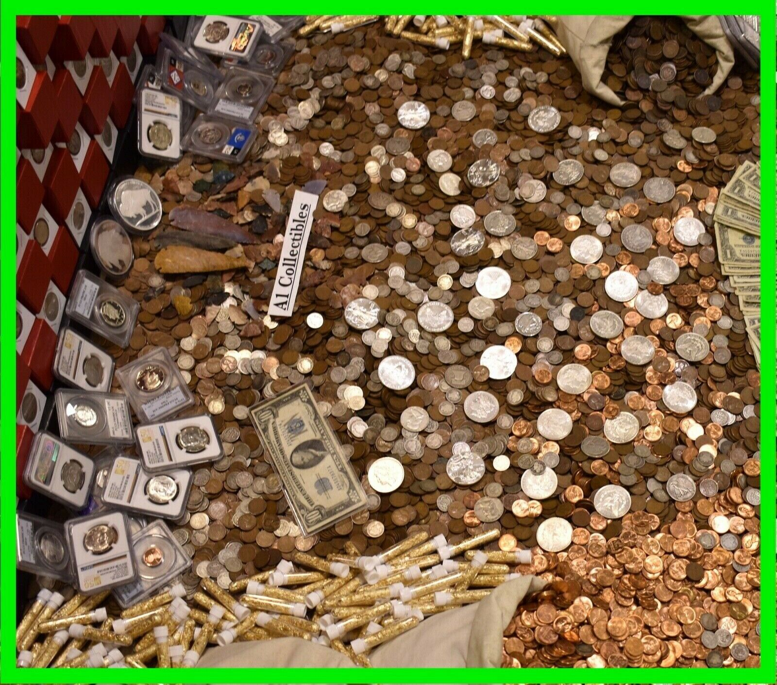 Best  $ OLD US COINS ESTATE SALE GOLD .999 SILVER BULLION RARE COLLECTION MIXED LOTS $