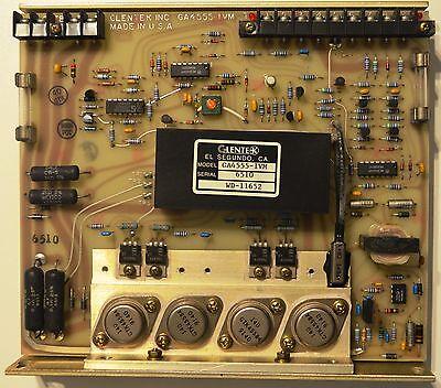 Glentek Ga4555-1vm Dc Brushed Analog Servo Drive Wd-11652 Ga4555-ivm