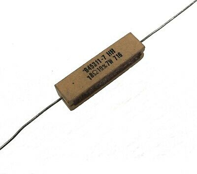 Power Resistor - 18- 10 7 Watt - Lot Of 1 Or 3