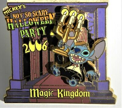 Disney World Pin Halloween Party 2006 Le Stich Haunted Mansion Butler (Disney World Halloween)