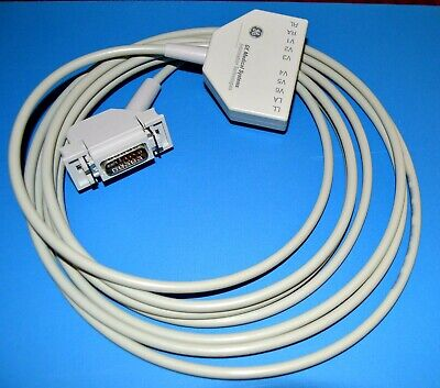 Ge Marquette Ekg Cable