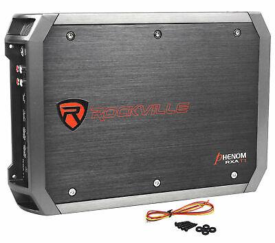 Rockville RXA-T1 1500 Watt Peak/750w RMS 2 Channel Amplifier Car Stereo Amp New