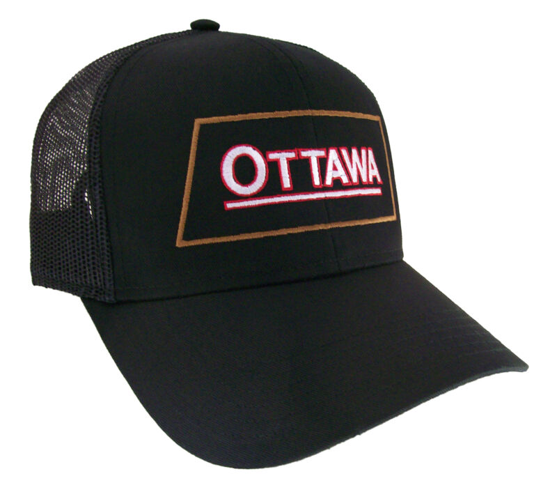 Ottawa Gas Engine Embroidered Mesh Cap Hat #40-8800bm