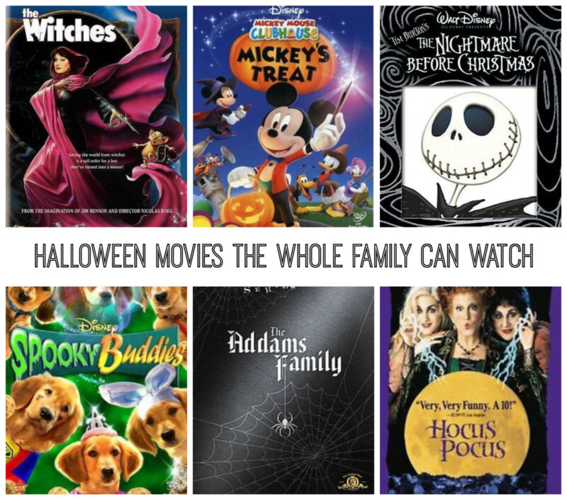 Halloween Movies the Whole Family Can Watch | eBay