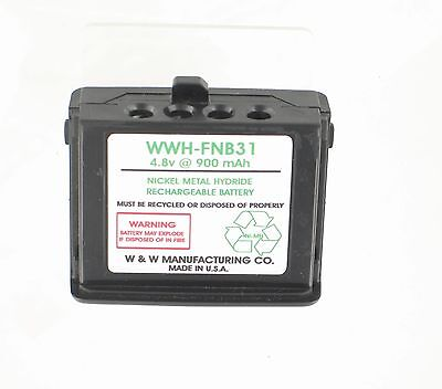 4.8v @ 900 mAh NiMH BATTERY- YAESU MODELS FT-11 FT-11R FT-41 FT-41R FT-51R FT-51 for sale  Shipping to Canada