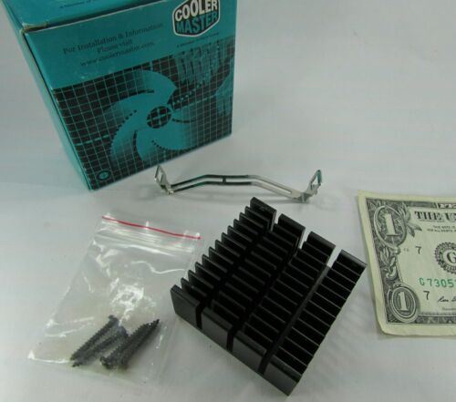 """Cooler Master Heatsink 2"""" / 50MM Square Screws & Mounting Strap Thermal Compound"""
