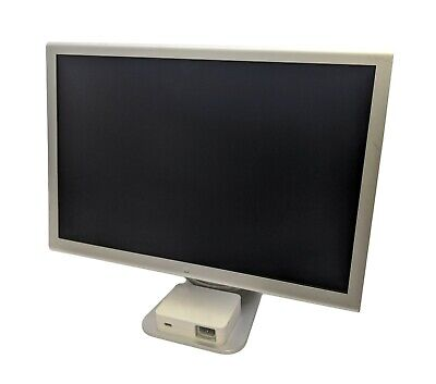 "Apple Cinema Display 20"" inch (Aluminum) A1801 1680x1050 Display Monitor Screen"