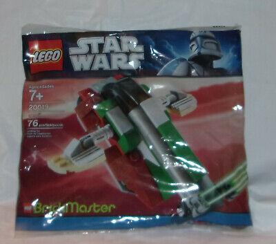 NEW 2011 LEGO STAR WARS 20019 SLAVE I, BRICKMASTER  76 PIECES