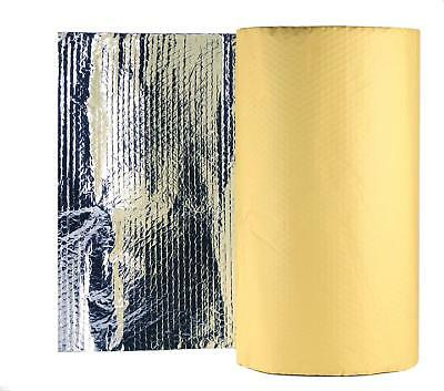 1 M Wide Self Adhesive Thermal Bubble Insulation Camper Caravan Radiant Foil