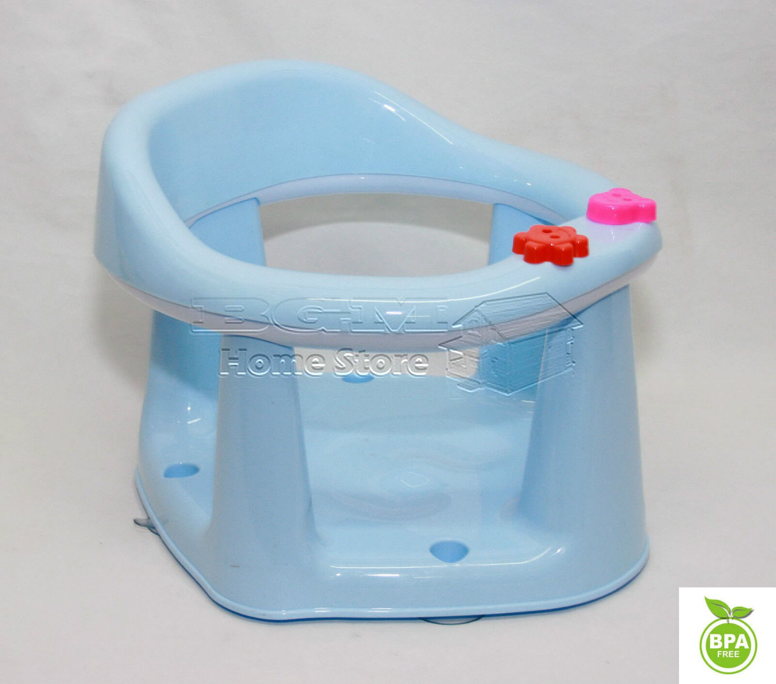 3 in 1 baby bath dining activity play seat kids tub ring seat chair sky blue. Black Bedroom Furniture Sets. Home Design Ideas