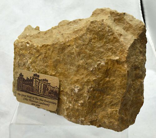 Vintage Collectible Great Wall of the Ohio Penitentiary Historical Landmark