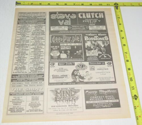 No Doubt Gwen Stefani Concert AD Advert 1996 Tour Convention Hall Asbury NJ  #2