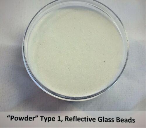 Reflective Powder Glass Beads Mil-Spec (4 ounces-50 pounds)