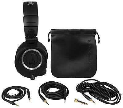 Audio Technica ATH-M50X Over Ear Professional Studio Monitor Headphones W/ (Audio Technica Ath M50x Monitor Over Ear Headphones)