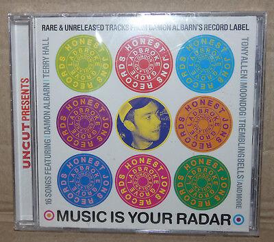 Uncut Presents - Music is your Radar - Damon Albarns Record Label Arti New (B17)