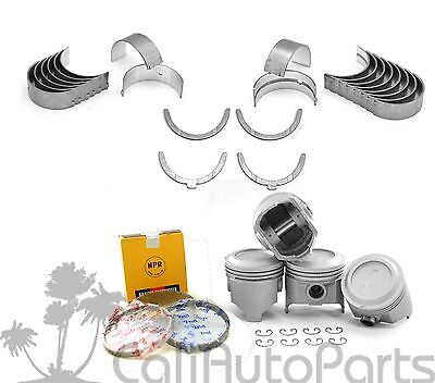 83-84 TOYOTA CORONA PICKUP 2.4L 22R SOHC 8V NPR PISTONS KIT AND RINGS SET