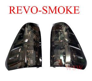 Set Back Smoke Lens Tail Lamps Light Fit Toyota Hilux Revo Sr5 M70 M80 2015 2016