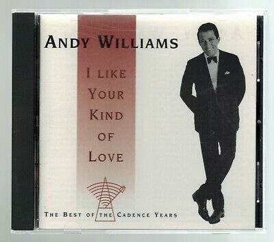 ANDY WILLIAMS - The Best of The Cadence Years - CD - 20 Songs Includes 15