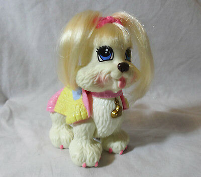 "Fisher-Price Snap 'N Style N8127 dog Ginger Shih Tzu 4 1/2"" tall"