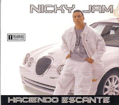 Nicky Jam   Haciendo Escante   Cd  Original Used Good