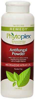 Medline Remedy Antifungal - Medline Remedy Phytoplex Antifungal Powder - White - One Each - MSC092603