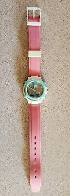 "Vintage 1980s Swatch Coke Watch ""Coca Cola"" with New Battery Swiss"