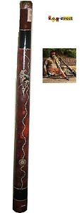 DIDGERIDOO-HARDWOOD-87CM-ABORIGINAL-BEAUTIFULLY-HAND-PAINTED-NEW-BR