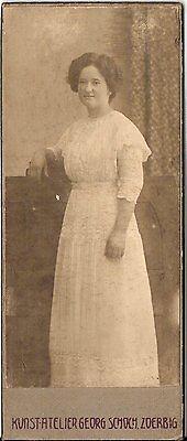CDV photo Feine Dame - Hannover 1900er