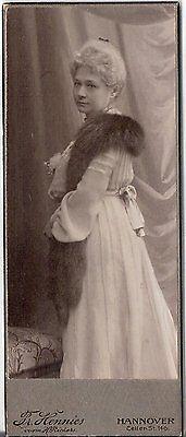 CDV photo Feine Dame - Hannover um 1910