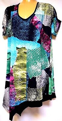 TS top TAKING SHAPE plus sz S / 16 Wicked Games Tunic soft stretch NWT! rrp$120