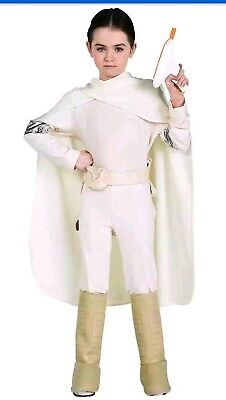 Padme Amidala Star Wars Queen Fancy Dress Up HALLOWEEN Child Costume LARGE 12-14](Padme Costumes)