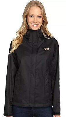 The North Face Womens Venture Best Waterproof Rain Jacket 2.5L Black Size