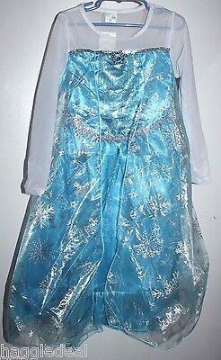 FROZEN DRESS UP HALLOWEEN COSTUME PRINCESS ELSA MEDIUM FOR 5 YRS. OLD GILRS - Elsa For Halloween